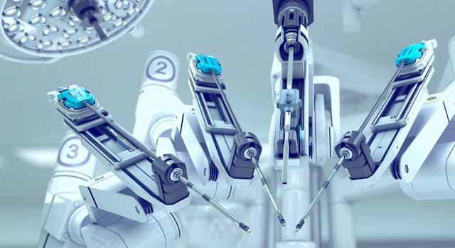 Opération cancer robot